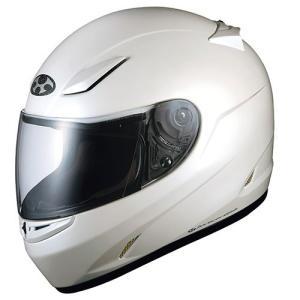 OGKカブト フルフェイスヘルメット(パールホワイト L(59-60cm未満)) FF-RIII FFR3 PWH L 返品種別B|joshin