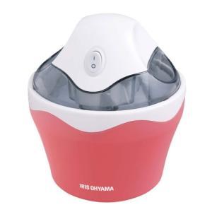 アイリスオーヤマ アイスクリームメーカー バニラストロベリー IRIS OHYAMA ICM-01-VS 返品種別A|joshin