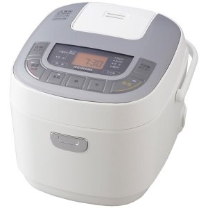 アイリスオーヤマ マイコン炊飯ジャー(5.5合炊き) ホワイト IRIS OHYAMA 米屋の旨み ジャー炊飯器 ERC-MC50-W 返品種別A|joshin