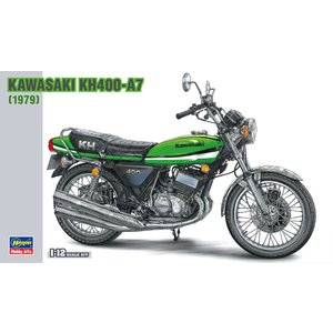 ハセガワ 1/ 12 カワサキ KH400-A7(BK6)プラモデル 返品種別B