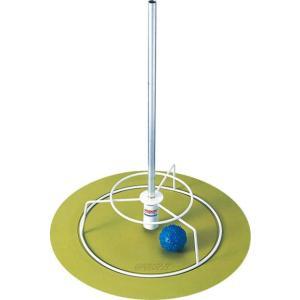 アシックス グラウンドゴルフ グランド室内用ホールポストシート(ライムグリーン) asics グラウンドゴルフ備品 GGG201-73 返品種別A|joshin