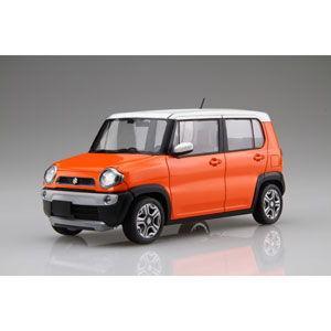 フジミ 1/ 24 車NEXTシリーズ No.2 スズキ ハスラー(パッションオレンジ)(車NX-2)プラモデル 返品種別B|joshin