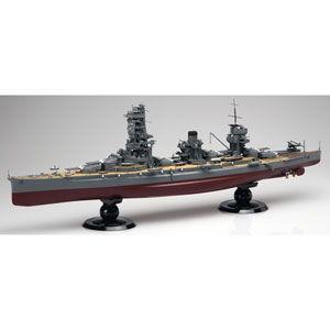 フジミ 1/ 350 艦船 旧日本海軍 戦艦山城 昭和18年(1943年)(350-7)プラモデル 返品種別B|joshin