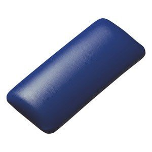 サンワサプライ マウス用リストレスト(レザー調素材、ブルー) TOK-GELPNSBL 返品種別A joshin