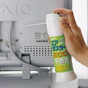 サンワサプライ エアダスター(不燃タイプ) CD-30ECO 返品種別A|joshin