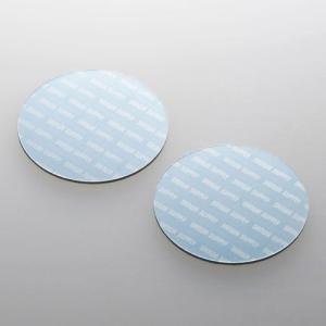 サンワサプライ ノートパソコン冷却パッド(丸型・2枚入り・ブルー) TK-CLNP2BL 返品種別A|joshin