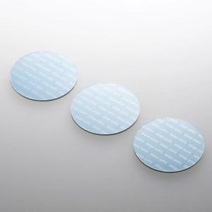 サンワサプライ ノートパソコン冷却パッド(丸型・3枚入り・ブルー) TK-CLNP3BL 返品種別A|joshin