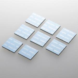 サンワサプライ ノートパソコン冷却パッド(8枚入り・ブルー) TK-CLNP8BL 返品種別A|joshin