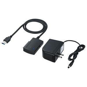 サンワサプライ SATA⇔USB3.0変換ケーブル USB-CVIDE3 返品種別A|joshin