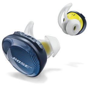 BOSE 完全ワイヤレス Bluetoothイヤホン(ミッドナイトブルー/ イエローシトロン) Bose SoundSport Free wireless headphones SSPORT FREE BLU 返品種別A|joshin