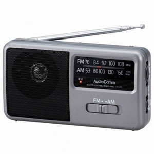 オーム ワイドFM/ AMポータブルラジオ A...の関連商品1