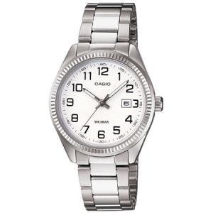 カシオ スタンダードアナログ時計 レディースタイプ LTP-1302D-7BJF 返品種別A|joshin