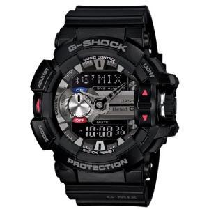 カシオ G-SHOCK G'MIXGショック デジアナ時計 メンズタイプ GBA-400-1AJF 返品種別A|joshin
