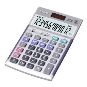 カシオ 卓上電卓 12桁(本格実務電卓) JS-20WK 返品種別A|joshin