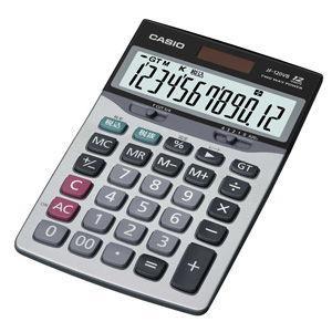 カシオ 卓上タイプ 12桁 電卓(ジャストサイズ) CASIO 本格実務電卓 JF-120VB-N 返品種別A|joshin