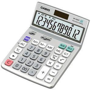 カシオ 卓上電卓 12桁 DF-120GT-N 返品種別A|joshin