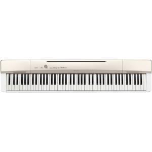カシオ 電子ピアノ(シャンパンゴールド調) CASIO Privia(プリヴィア) PX-160-GD 返品種別A joshin