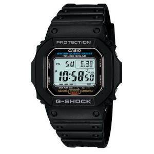 カシオ G-SHOCKGショックデジタルソーラー時計 G-5600E-1JF 返品種別A|joshin