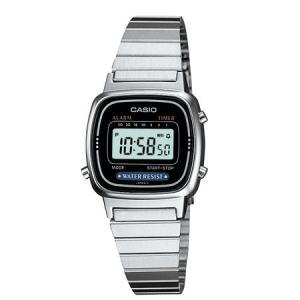 カシオ (国内正規品)スタンダードデジタル時計 レディースタイプ LA670WA-1JF 返品種別A