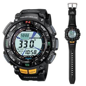 カシオ PROTREK Triple Sensorソーラー時計 PRG-240-1JF 返品種別A|joshin