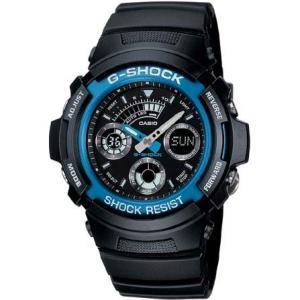 カシオ BASICGショック デジアナ時計 AW-591-2AJF 返品種別A|joshin