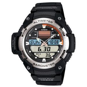 カシオ SPORTS GEARデジアナ時計 SGW-400H-1BJF 返品種別A|joshin