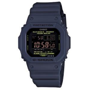 カシオ (国内正規品)G-SHOCK(ジーショック) Navy BlueGショック ソーラー電波時計...