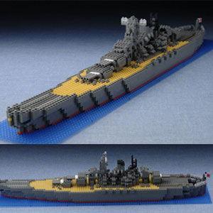 カワダ nanoblock(ナノブロック) 日本海軍戦艦 大和 返品種別B