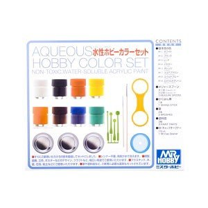 GSIクレオス 水性ホビーカラーセット(HS30)塗料 返品種別B|joshin