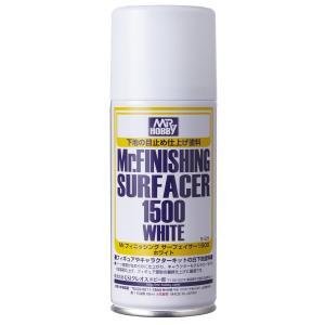 GSIクレオス Mr.フィニッシングサーフェイサー1500ホワイト スプレータイプ(B529) 返品...