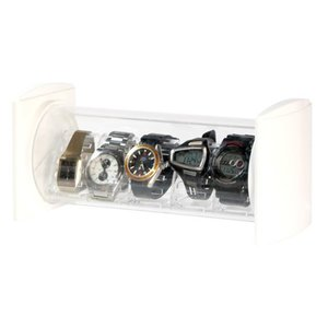 シンコハンガー スタック型時計コレクションケースコワクタワー・ウォッチスタック CTW-W 返品種別A|joshin