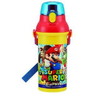 スケーター ワンプッシュボトル 0.48L スーパーマリオ PSB5SANス-パ-マリオ17 返品種...