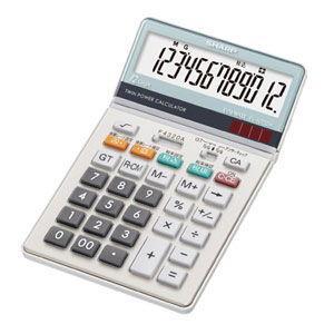 シャープ 卓上電卓 ナイスサイズタイプ 12桁 EL-N732K-X 返品種別A|joshin