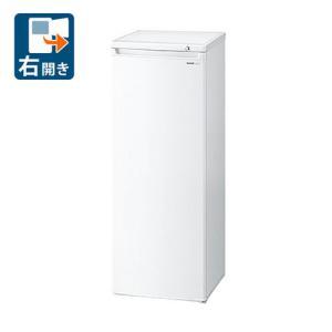 (標準設置 送料無料)シャープ 167L 冷凍庫(フリーザー)直冷式 ホワイト系 SHARP FJ-HS17X-W 返品種別A|joshin