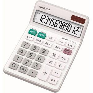 シャープ 卓上電卓 12桁 EL-N432X 返品種別A|joshin