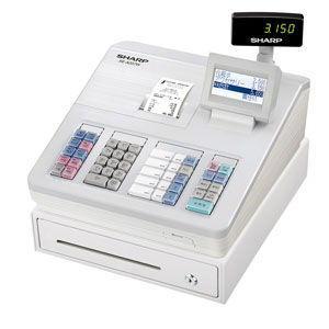 シャープ 電子レジスタ(ホワイト) XE-A207W-W 返品種別A|joshin