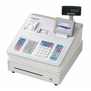 シャープ 電子レジスタ(ホワイト) XE-A307-W 返品種別A|joshin