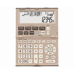 シャープ 金融電卓 12桁 EL-K632X 返品種別A|joshin