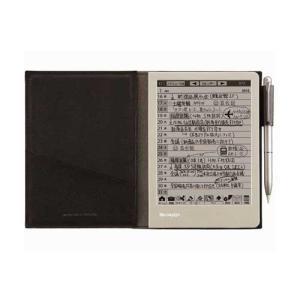 シャープ 電子ノート(ブラック系) WG-S30-B 返品種別A|joshin