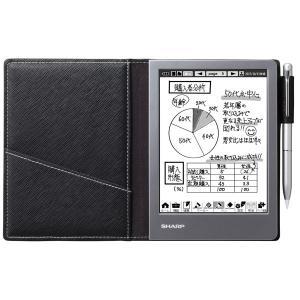 シャープ 電子ノート ブラック WG-S50 返品種別A|joshin