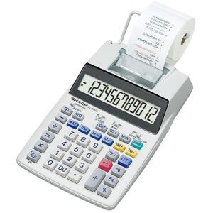 シャープ プリンタ電卓 12桁 SHARP セミデスクトップタイプ EL-1750V 返品種別A joshin