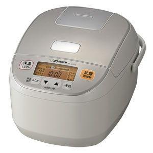 象印 マイコン炊飯ジャー(5.5合炊き) ホワイト ZOJIRUSHI NL-DS10-WA 返品種別A|joshin