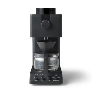 ツインバード 全自動コーヒーメーカー ブラック TWINBIRD CM-D457B 返品種別A|joshin