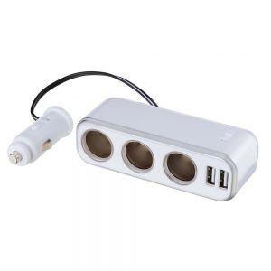 ナポレックス イルミソケットS3 USB 4.8A(ホワイト) NAPOLEX FIZZ939 返品種別A joshin