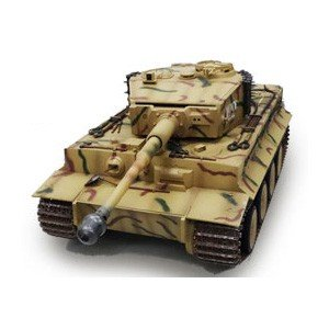 童友社 (再生産)1/ 16 大型戦車RC ドイツ重戦車 タイガーI 2.4GHz(赤外線バトルシステム付き)ラジコン 返品種別B