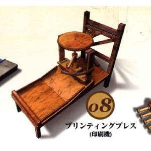 童友社 レオナルドダビンチ 8 プリンティングプレス 印刷機プラモデル 返品種別B