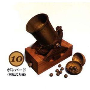 童友社 レオナルドダビンチ 10 ボンバー 回転式大砲プラモデル 返品種別B