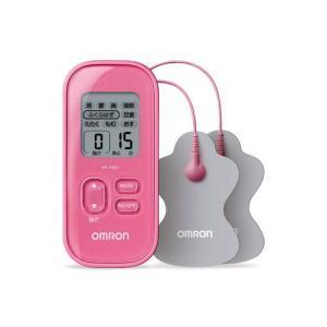 オムロン 低周波治療器(ピンク) OMRON HV-F021-PK 返品種別A