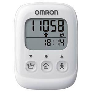 オムロン 歩数計 ホワイト OMRON HJ-325-W 返品種別A|joshin