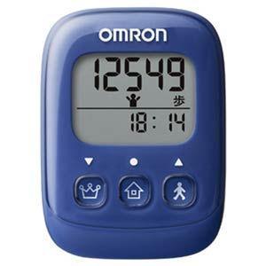 オムロン 歩数計 ブルー OMRON HJ-325-B 返品種別A|joshin